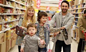 Testkäufer im Supermarkt
